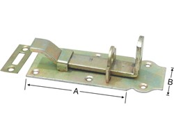 Related Product Door Locking Latche Bent Type (With Locking Plate)